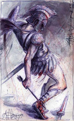 Tod des Achilles