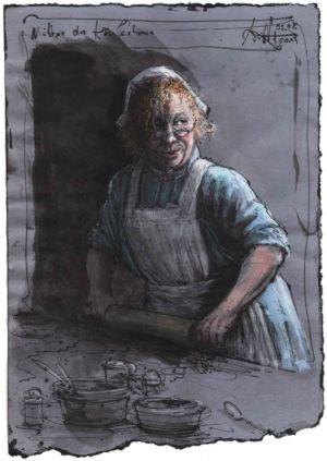 Mutter des Käsekuchens