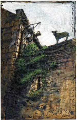Auf der Mauer, auf der Lauer (Église Saint-Ours de Loches)