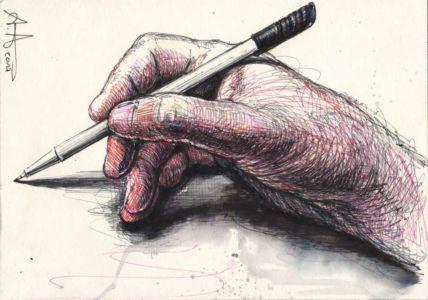 Auch ein Rechtshänder kann zeichnen (Light Version)