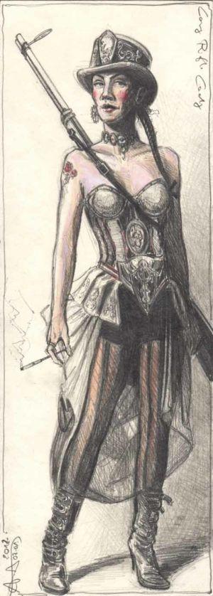 Long Rifle Lady