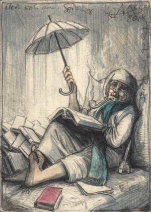 Noch so´n armer Spittzweg Poet