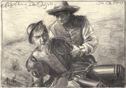 Gefallener Don Quijote