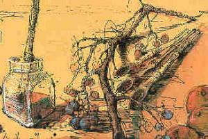 Noßmanns Mystiker scheinen in Musikinstrumente zu steigen