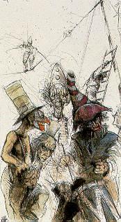 In einem Atemzug mit Goya, Busch und Janssen