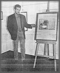 Werke von Andreas Noßmann in der Anholter Galerie No. 3