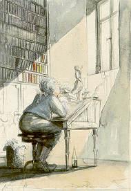 Andreas Noßmann in der Galerie am Hufeisen