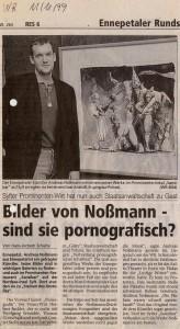 Bilder von Noßmann - sind sie pornografisch?