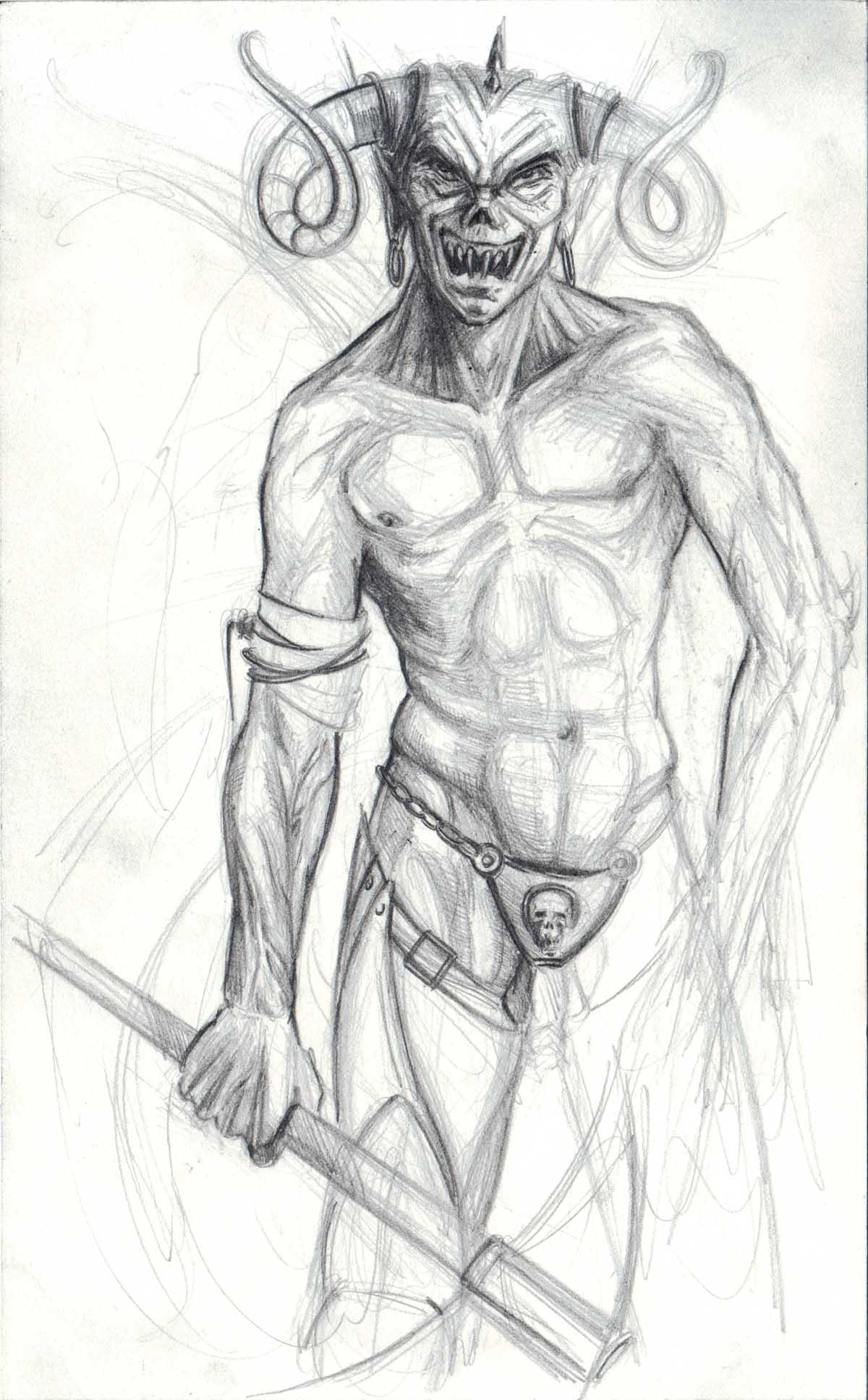 Asasel - Daemon Artwork