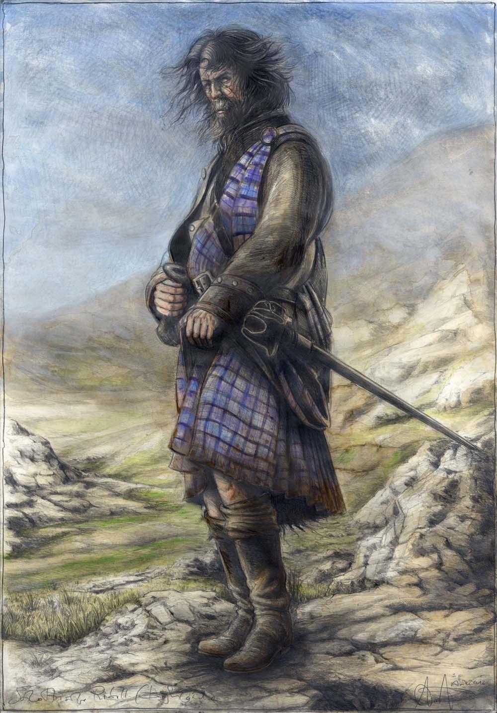 Schottischer Rebell (Highländer)