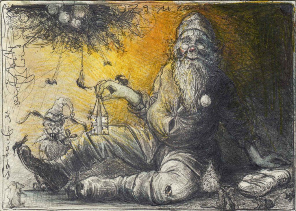 Santa, für die Kleinsten
