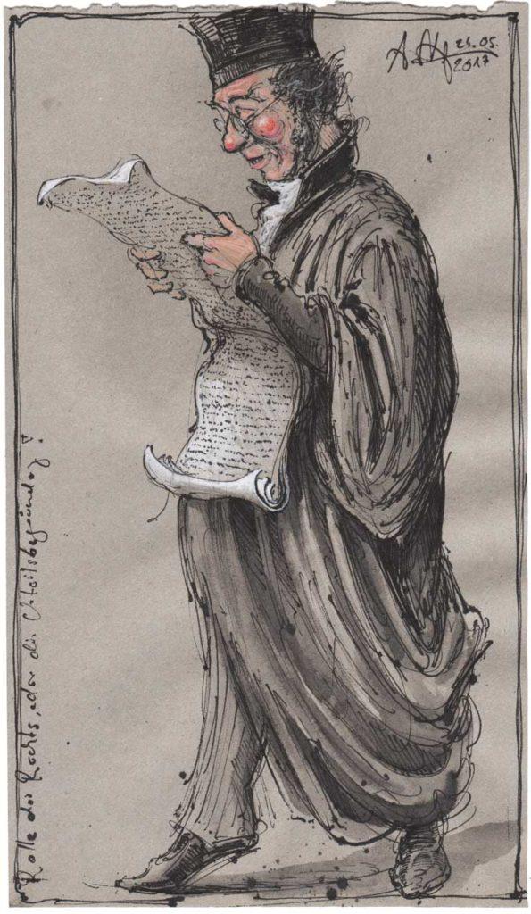 Rolle des Rechts, oder, die Urteilsbegründung