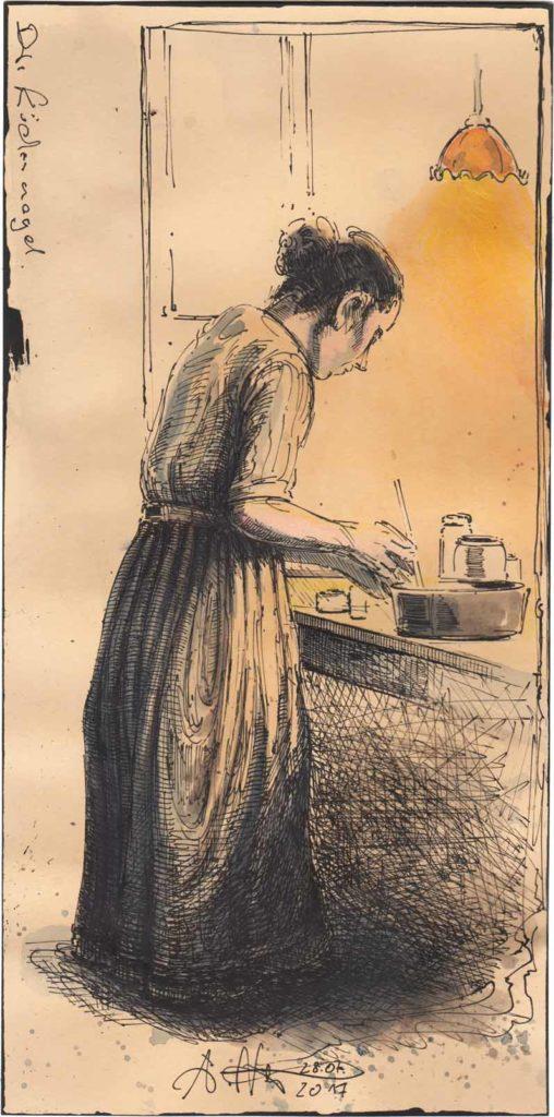 Die Küchenmagd