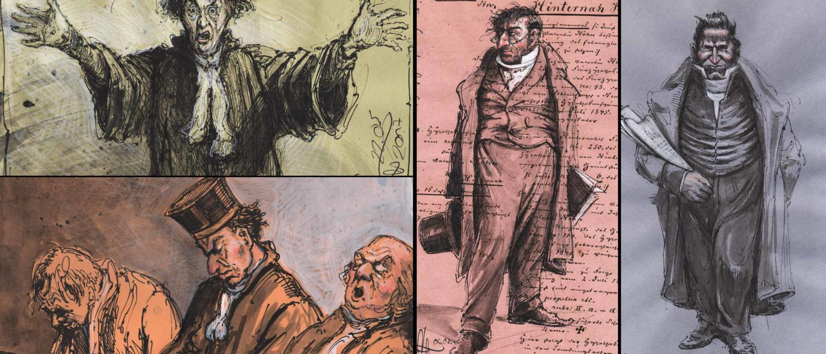 Welt des Honore Daumier