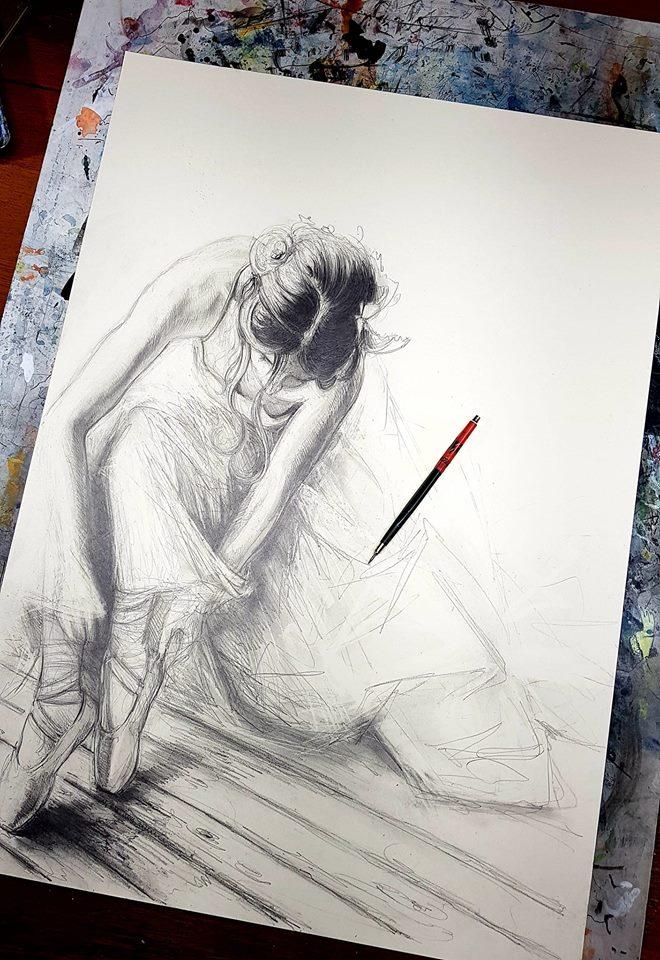 Menschen zeichnen (Greetsiel) – Andreas Noßmann