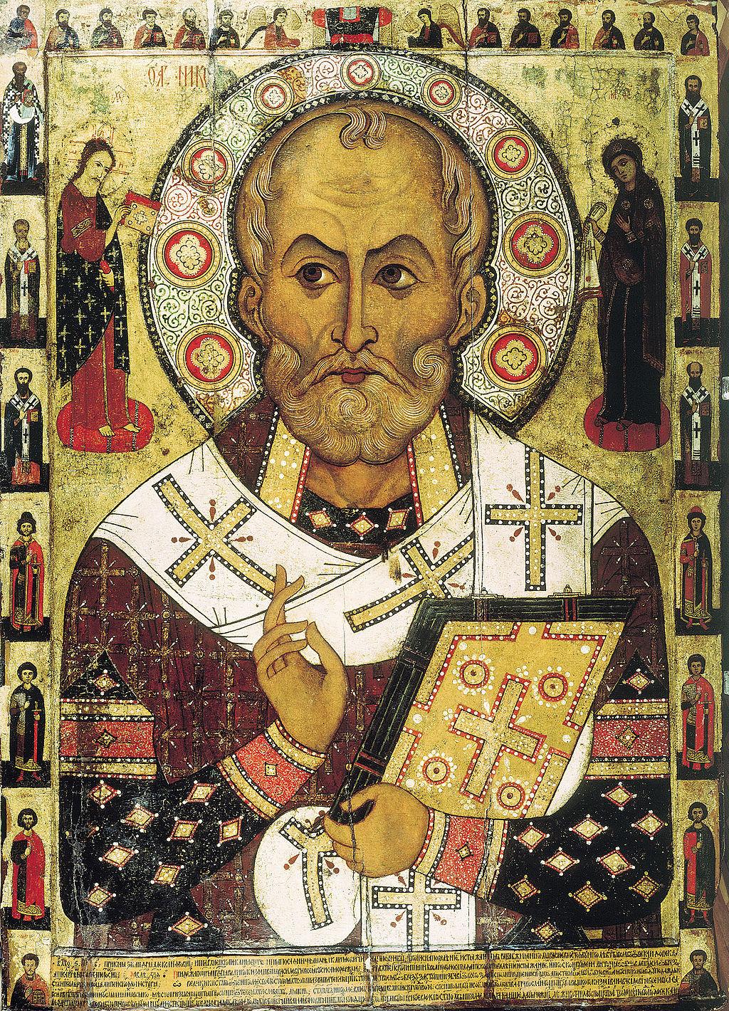 Darstellung des Nikolaus um 1294